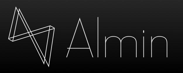 Almin.js logo